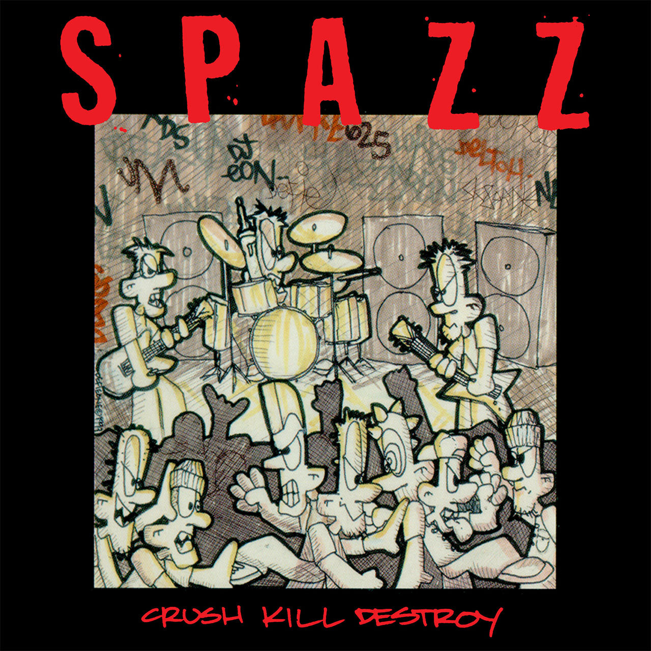 Spazz - Crush Kill Destroy (2018 Reissue) (CD)