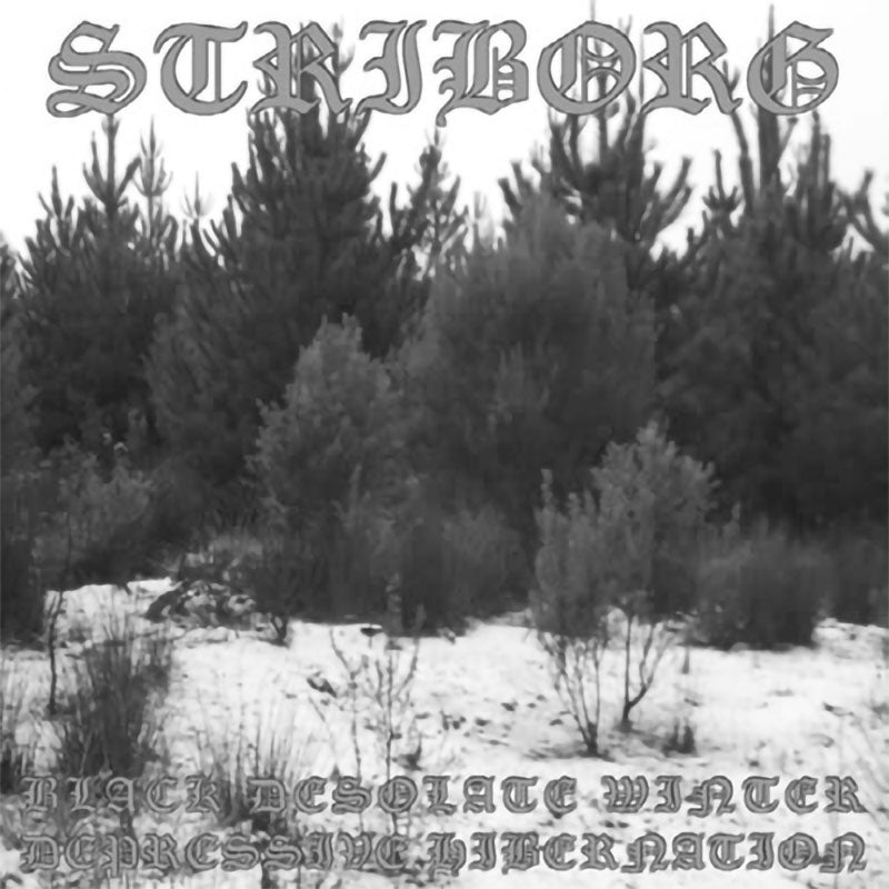 Striborg - Black Desolate Winter / Depressive Hibernation (2008 Reissue) (CD)