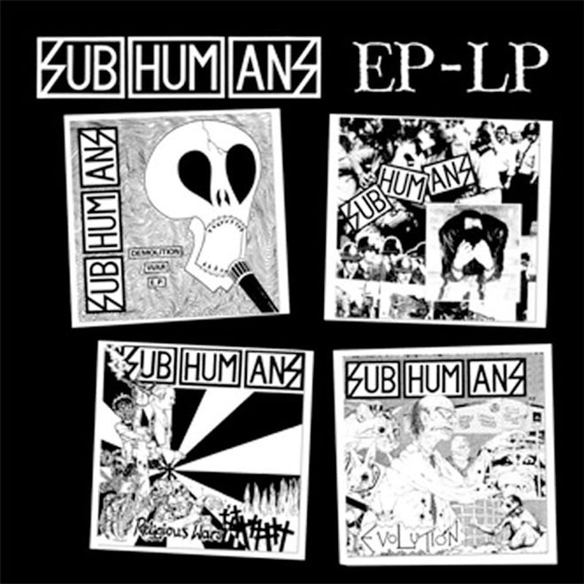 Subhumans - EP-LP (2008 Reissue) (LP)