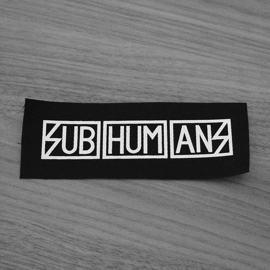 Subhumans - Logo (Printed Patch)