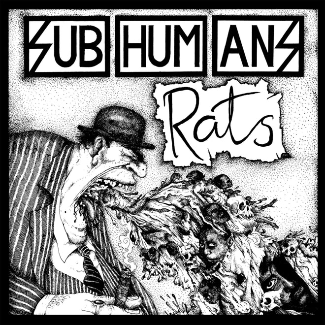 Subhumans - Time Flies + Rats (2008 Reissue) (Clear Edition) (LP)