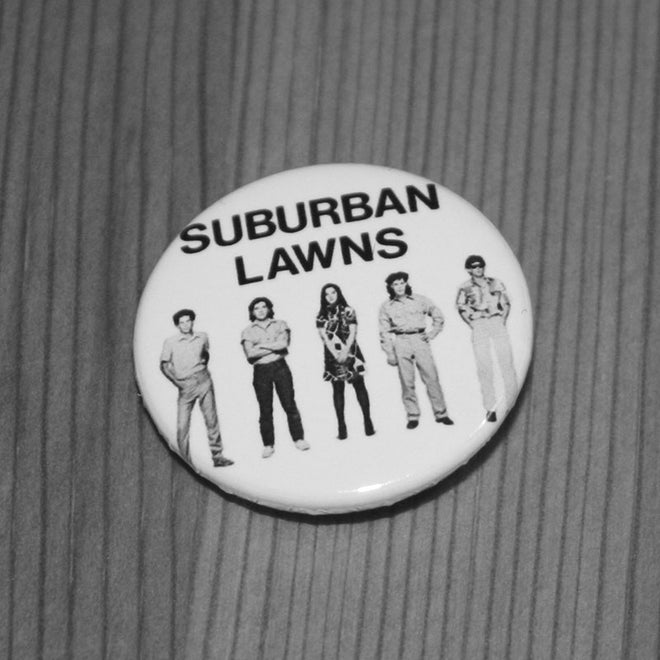 Suburban Lawns - Logo & Band (Badge)