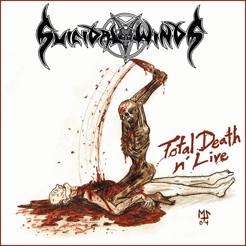 Suicidal Winds - Total Death n' Live (CD)