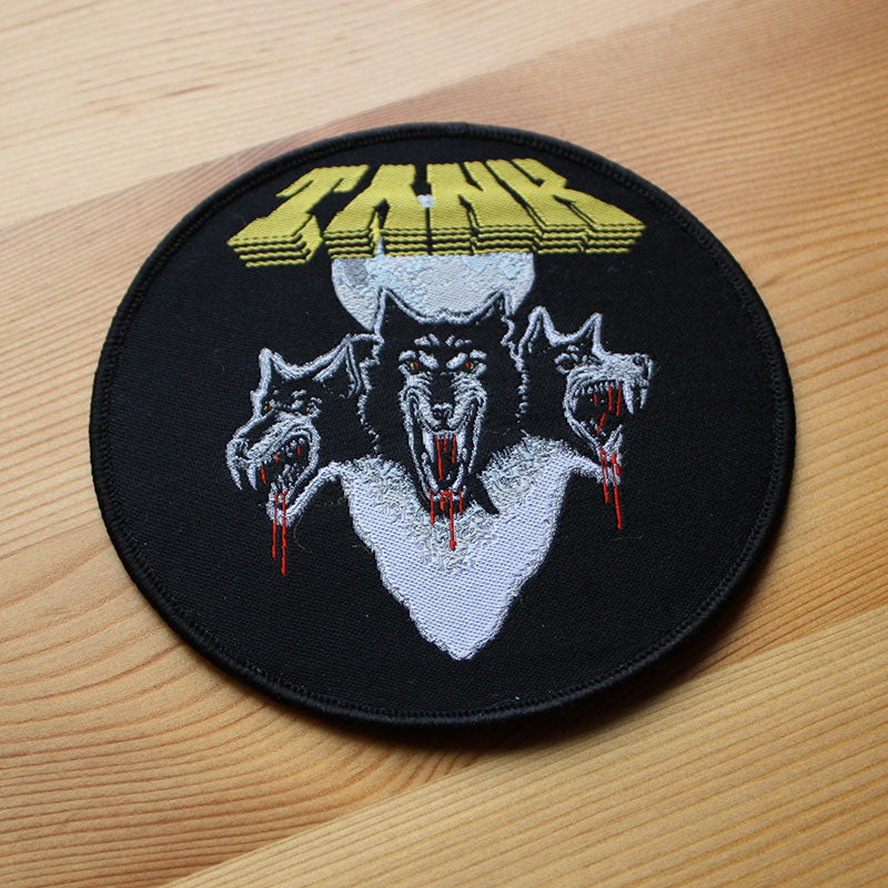 Tank - Filth Hounds of Hades (Circle) (Woven Patch)