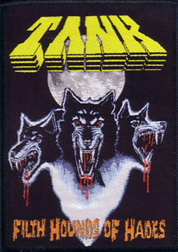 Tank - Filth Hounds of Hades (Woven Patch)