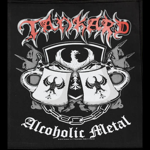 Tankard - Alcoholic Metal (Backpatch)