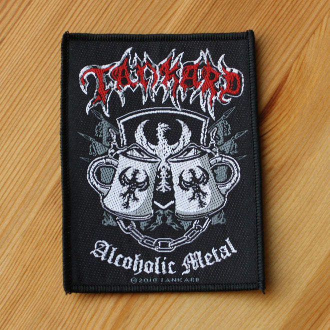 Tankard - Alcoholic Metal (Woven Patch)
