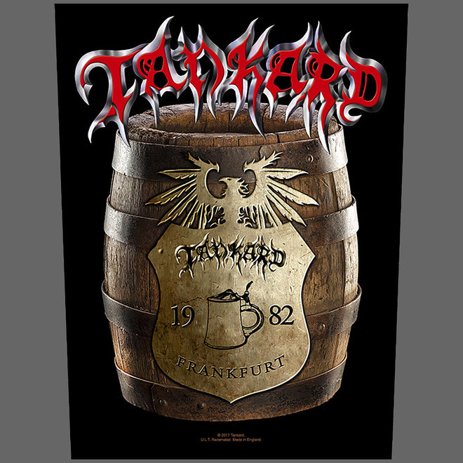 Tankard - Beer Barrel (Backpatch)