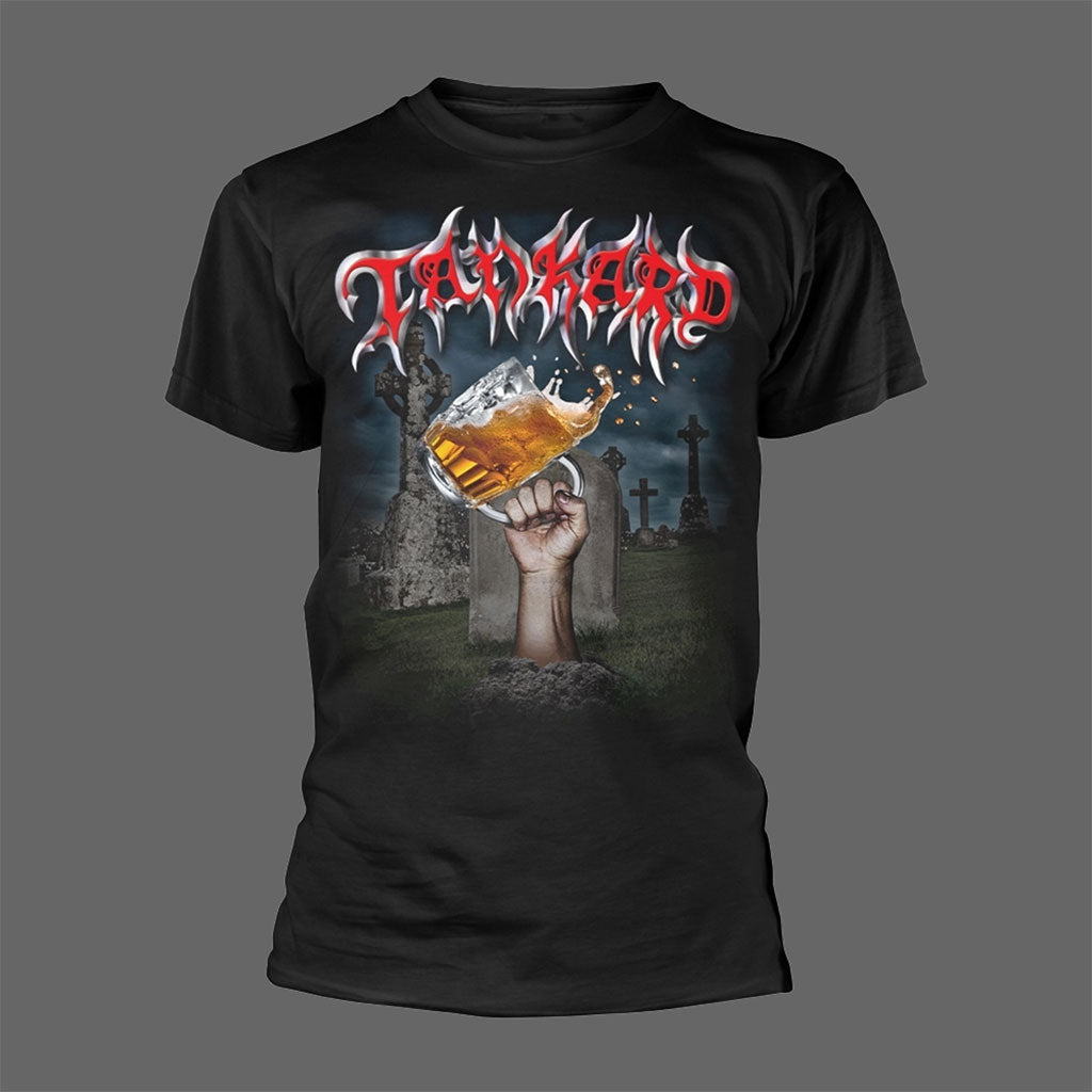 Tankard - Die With a Beer in Your Hand (T-Shirt)