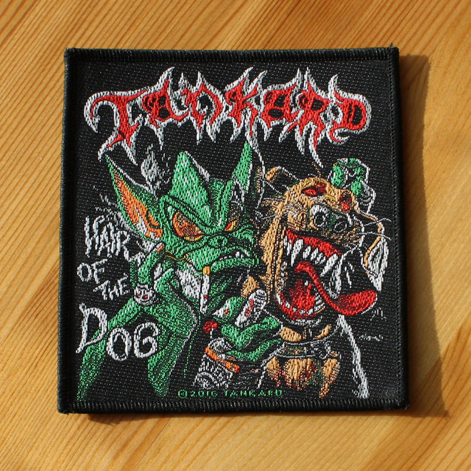 Tankard - Hair of the Dog (Woven Patch)