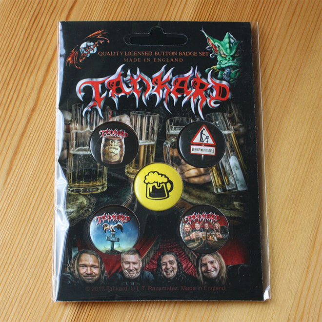 Tankard - One Foot in the Grave (Badge Pack)