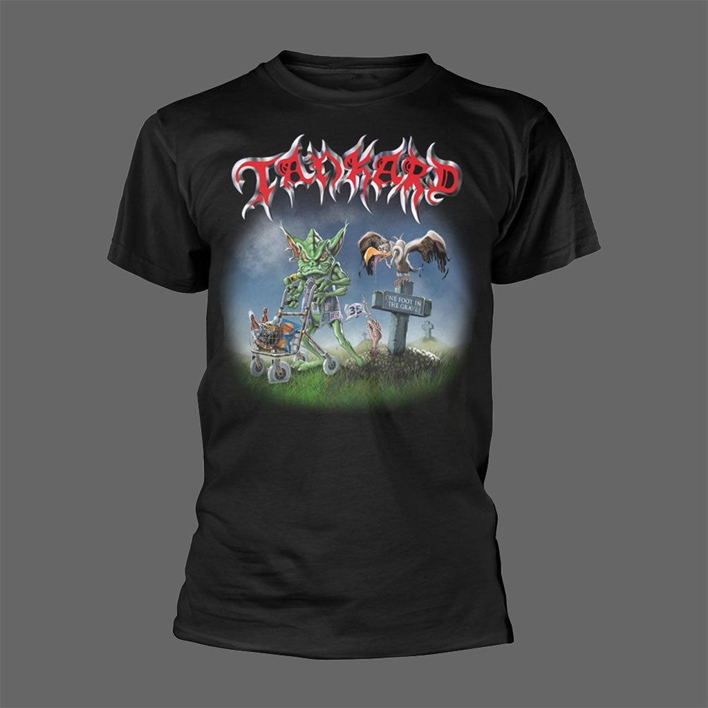 Tankard - One Foot in the Grave / Senile with Style (T-Shirt)