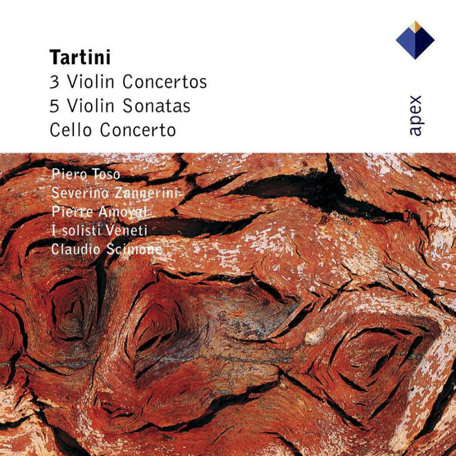 Tartini - 3 Violin Concertos, Cello Concerto, 5 Violin Sonatas (2CD)