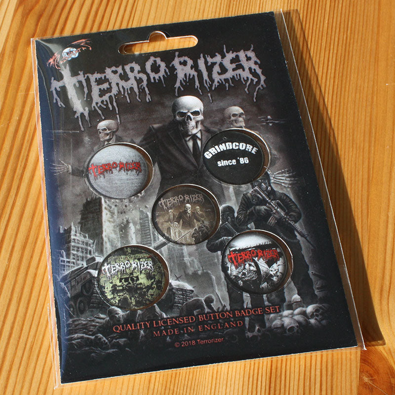 Terrorizer - Caustic Attack (Badge Pack)