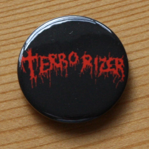 Terrorizer - Red Logo (Badge)