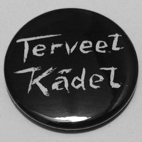 Terveet Kadet - White Logo (Badge)