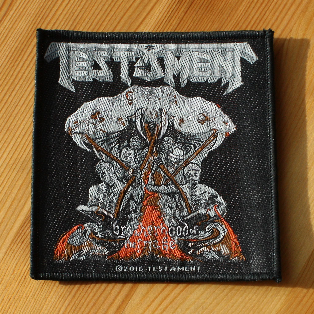 Testament - Brotherhood of the Snake (Woven Patch)