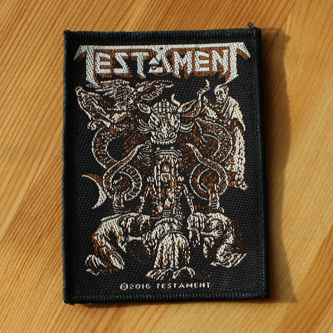Testament - Demonarchy (Woven Patch)