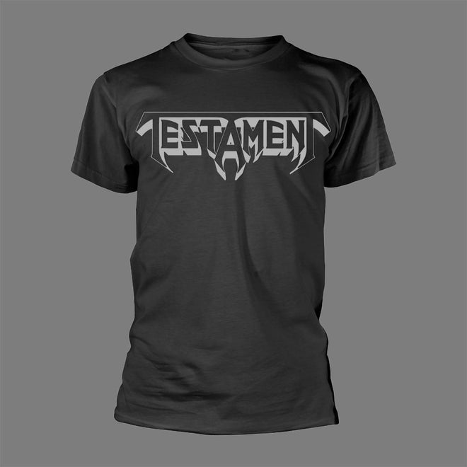Testament - Grey Logo (T-Shirt)
