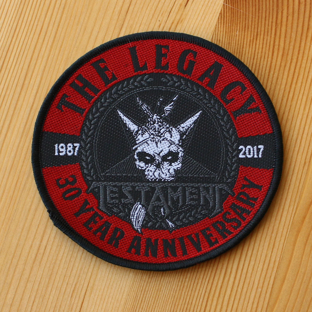 Testament - The Legacy 30 Year Anniversary (Woven Patch)