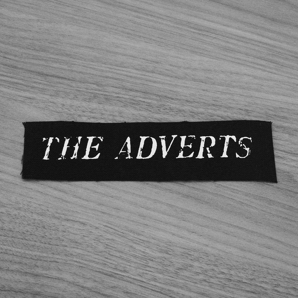 The Adverts - Logo (Printed Patch)