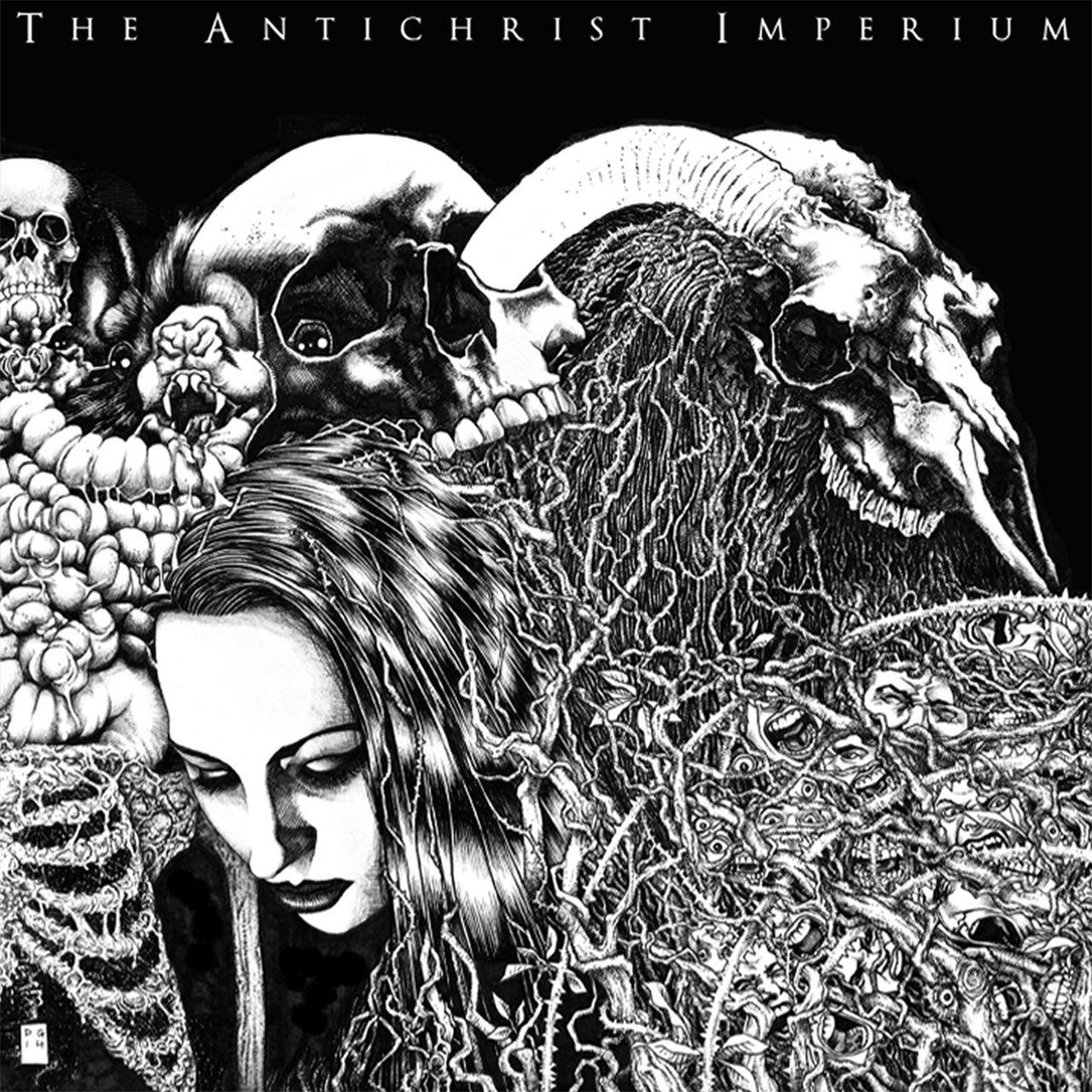 The Antichrist Imperium - The Antichrist Imperium (CD)