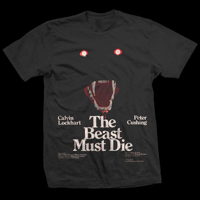 The Beast Must Die (1974) Double Bill Poster (T-Shirt)