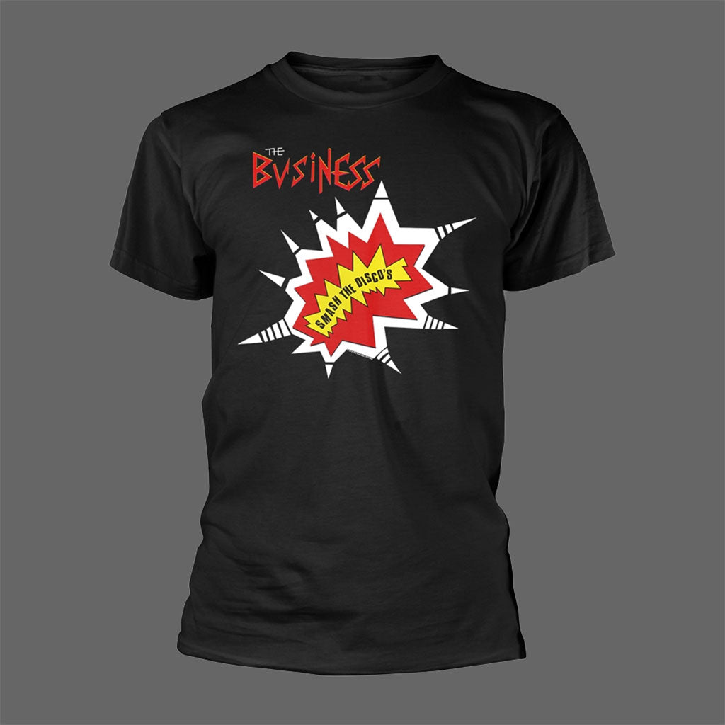 The Business - Smash the Disco's (Black) (T-Shirt)