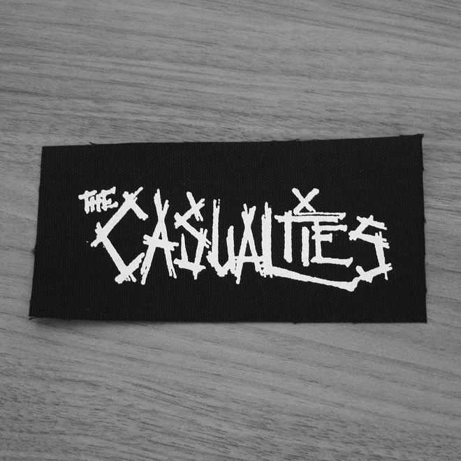 The Casualties - Logo (Printed Patch)