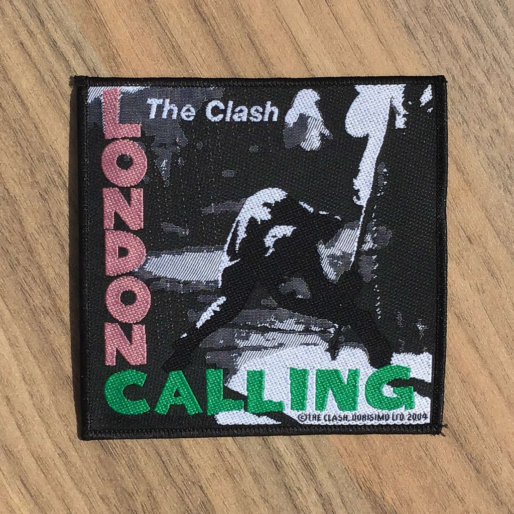 The Clash - London Calling (Woven Patch)