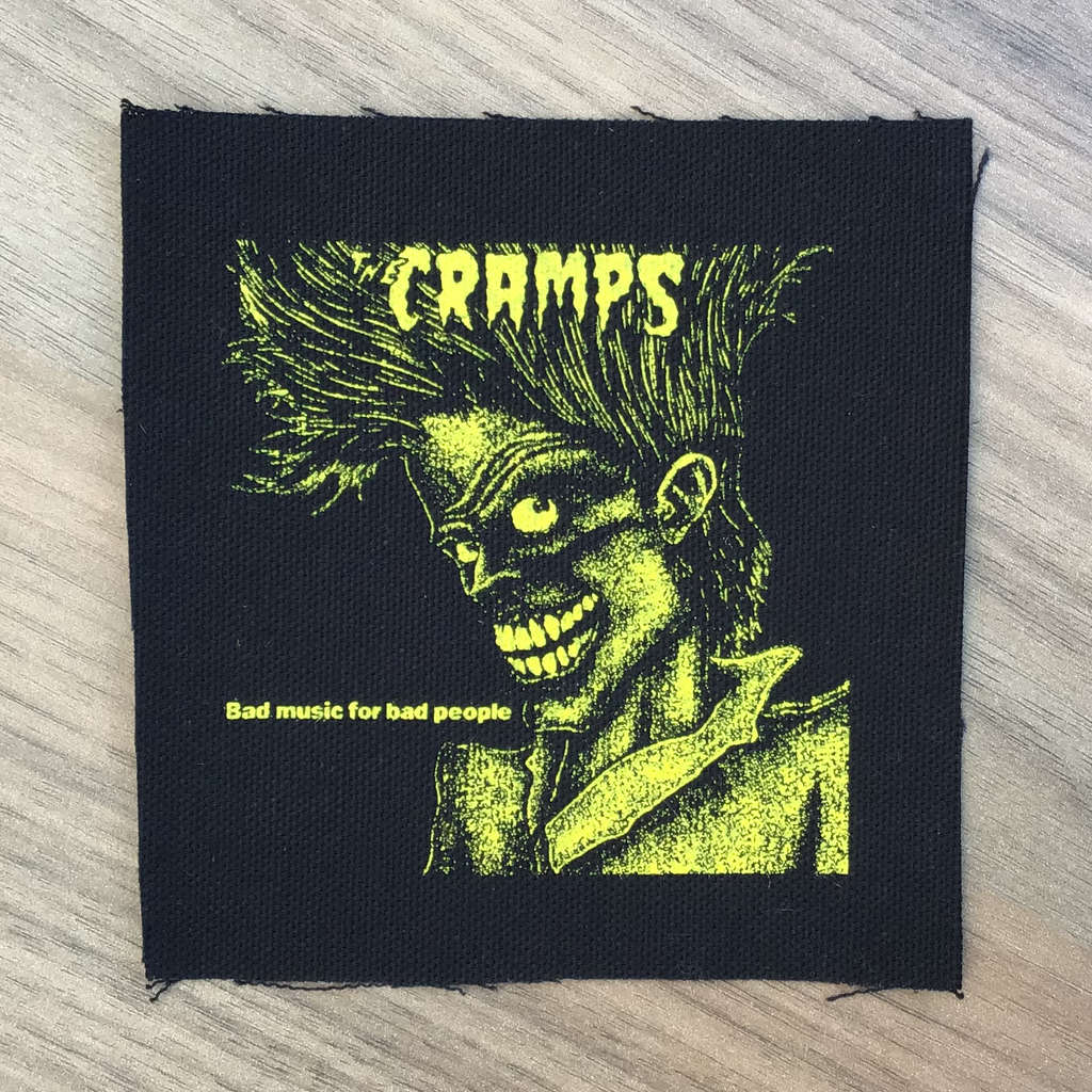 The Cramps - Bad Music for Bad People (Printed Patch)