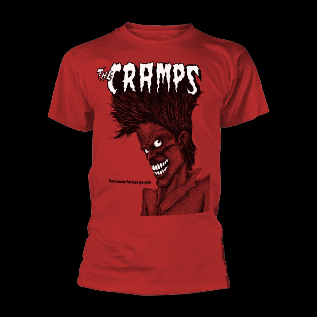 The Cramps - Bad Music for Bad People (Red) (T-Shirt)