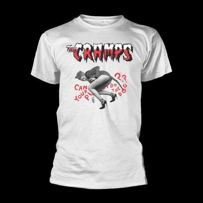 The Cramps - Can Your Pussy Do the Dog (White) (T-Shirt)