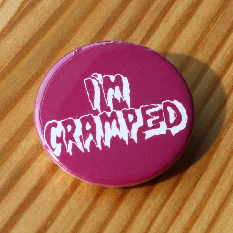 The Cramps - I'm Cramped (Badge)