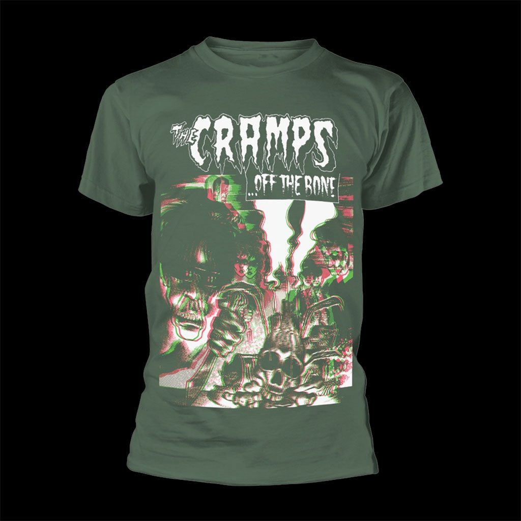 The Cramps - Off the Bone (Green) (T-Shirt)