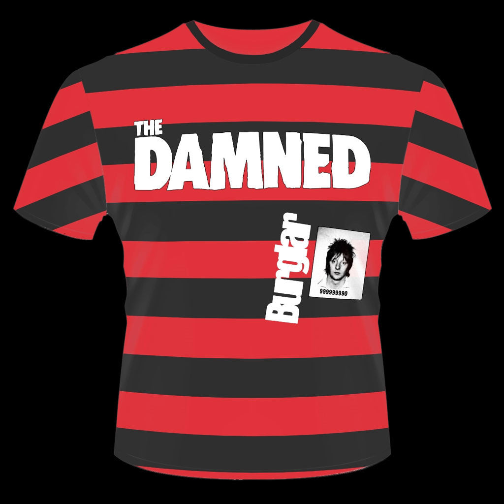 The Damned - Burglar (Smash It Up) (T-Shirt)