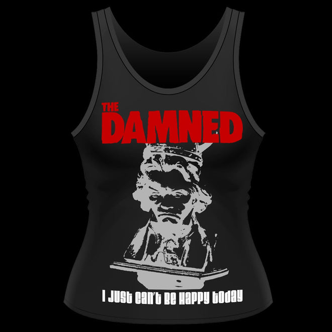 The Damned - I Just Can't Be Happy Today (Women's Tank Vest)