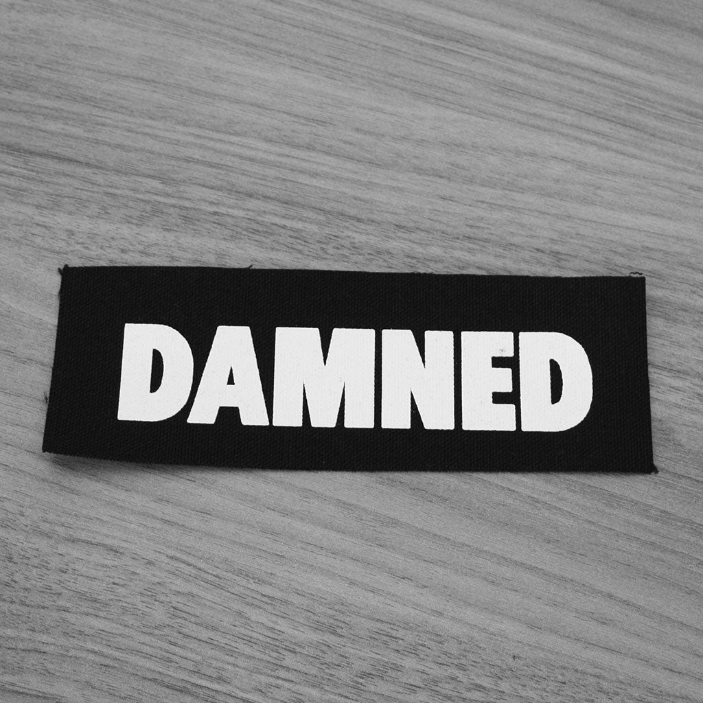 The Damned - Logo (Printed Patch)