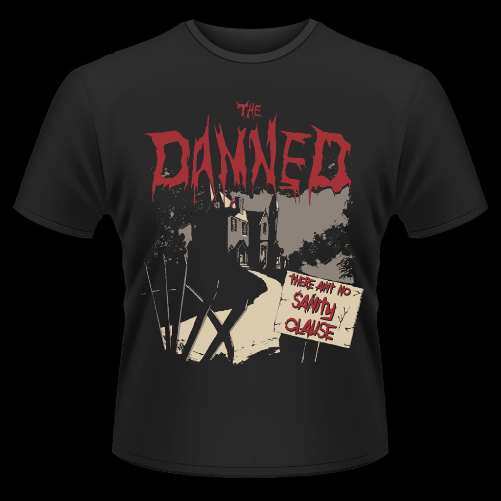 The Damned - There Ain't No Sanity Clause (Wyngrave Asylum) (T-Shirt)