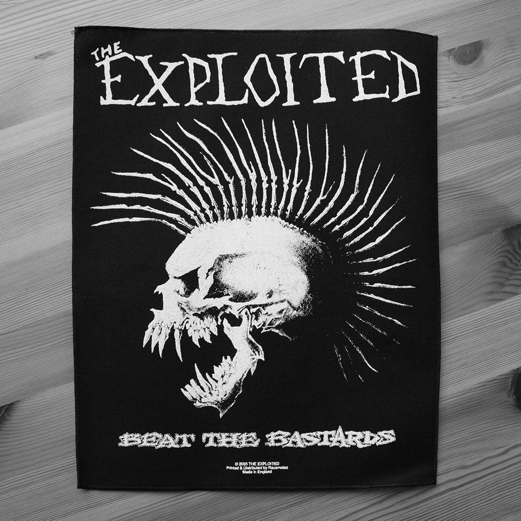The Exploited - Beat the Bastards (Backpatch)