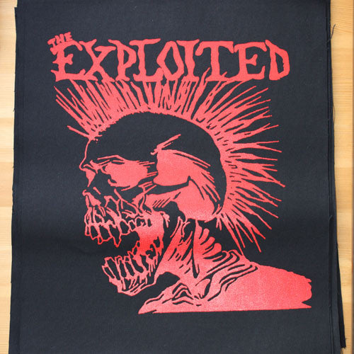 The Exploited - Let's Start a War (Backpatch)