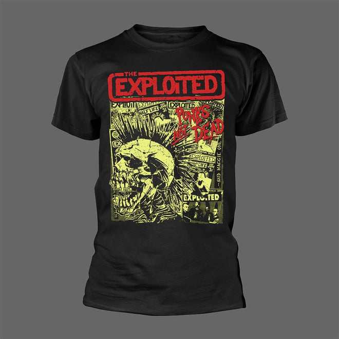 The Exploited - Punks Not Dead (Skull & Flyers) (T-Shirt)