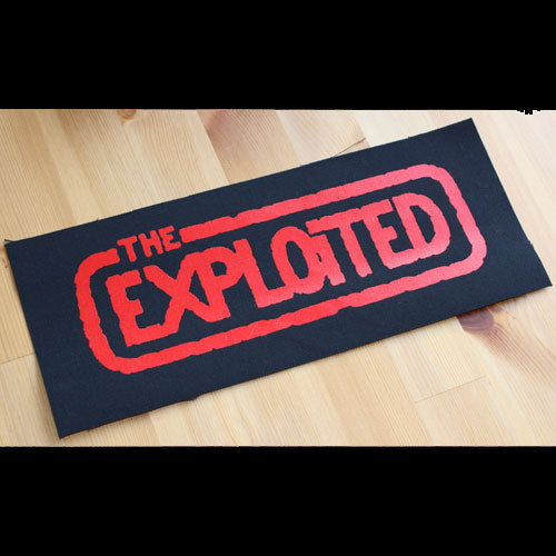 The Exploited - Red Logo (Superstrip) (Backpatch)