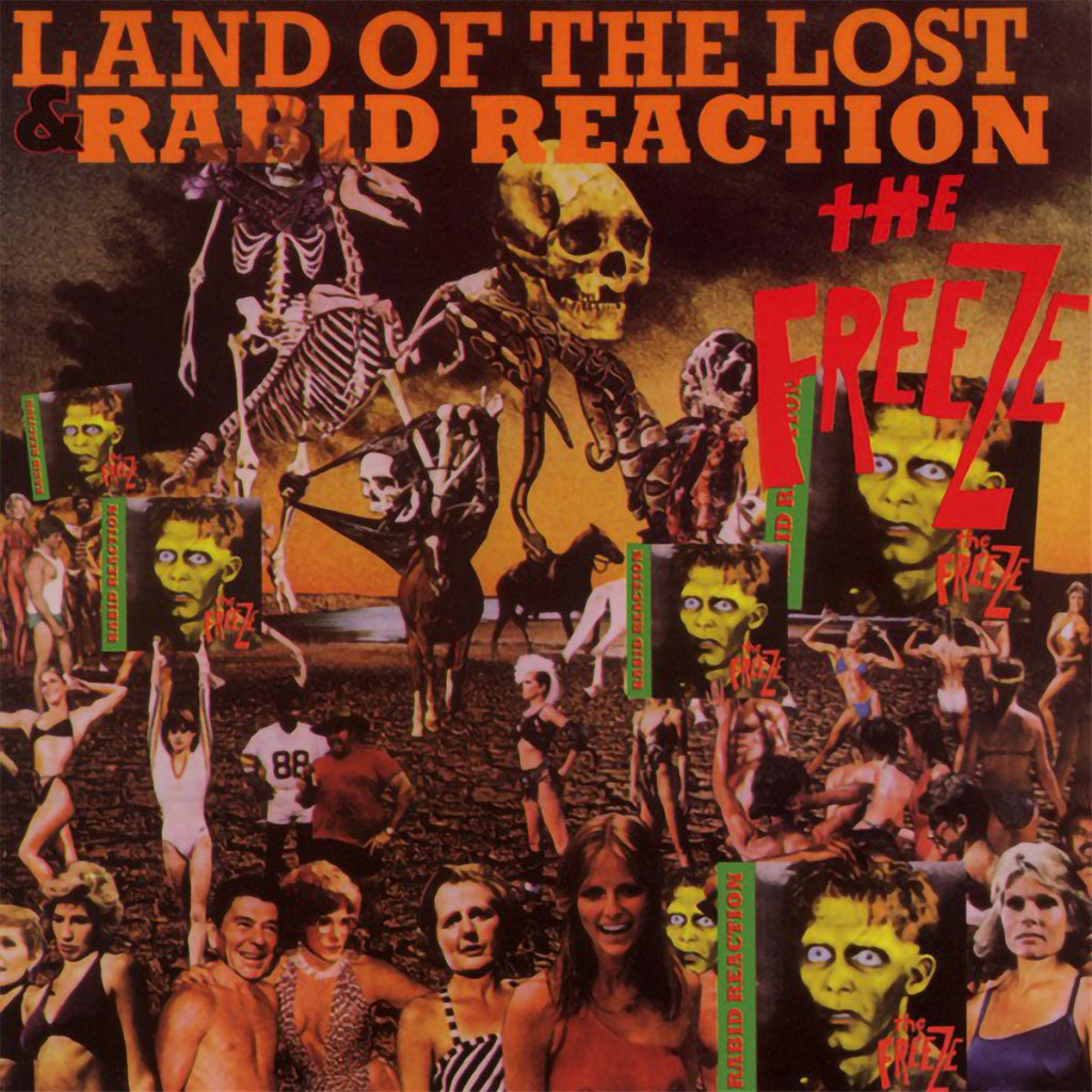 The Freeze - Land of the Lost & Rabid Reaction (CD)