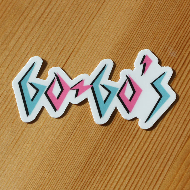 The Go-Go's - Logo (Sticker)