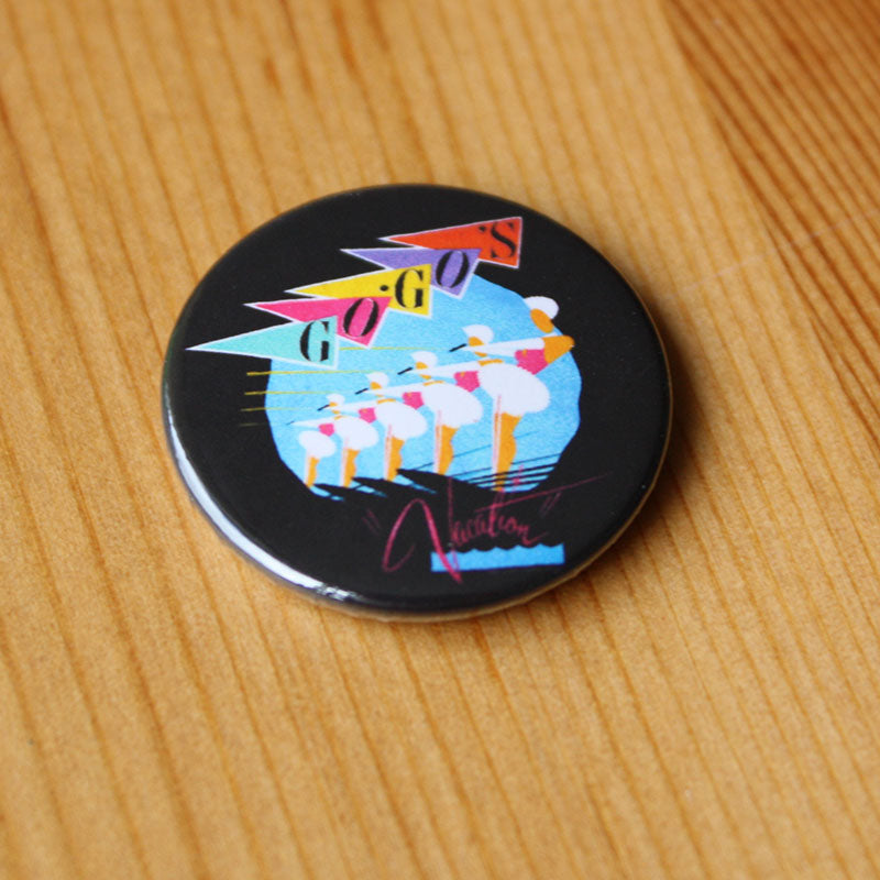 The Go-Go's - Vacation (Badge)