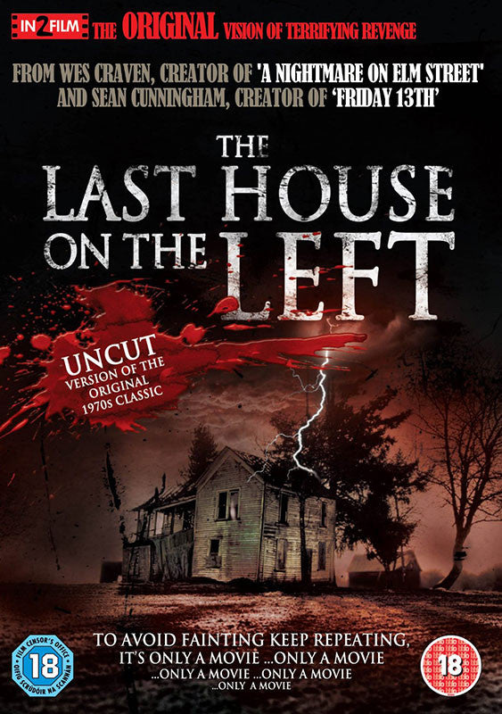 The Last House on the Left (1972) (DVD)