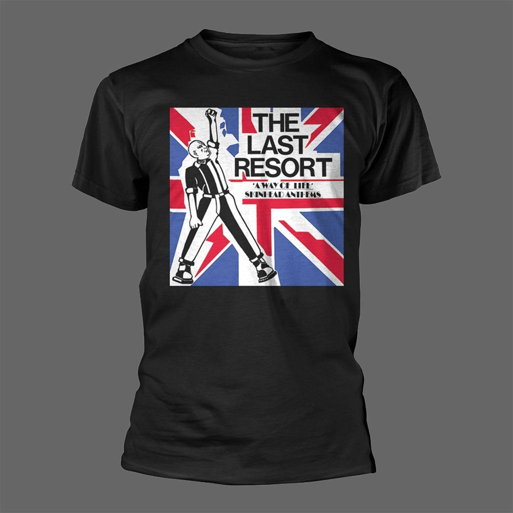 The Last Resort - A Way of Life: Skinhead Anthems (Black) (T-Shirt)