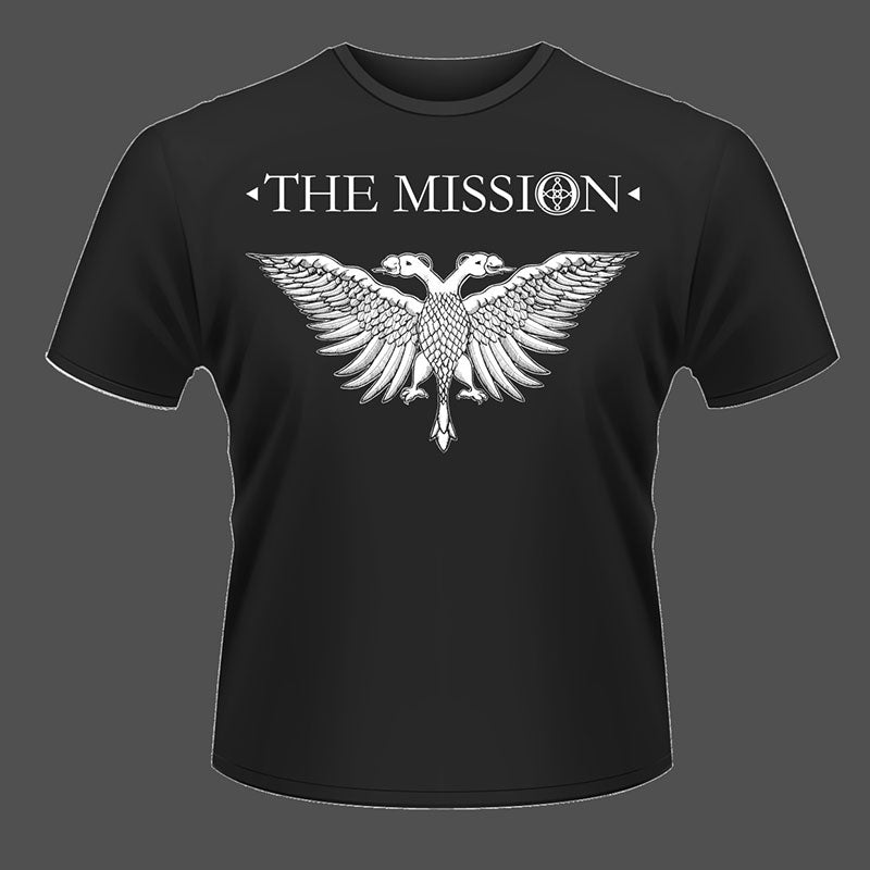 The Mission - Logo & Eagle (T-Shirt)