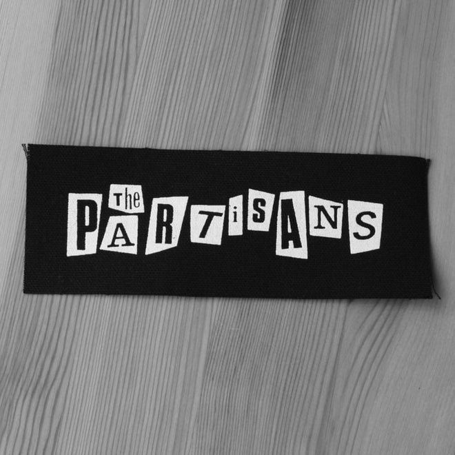 The Partisans - White Logo (Printed Patch)